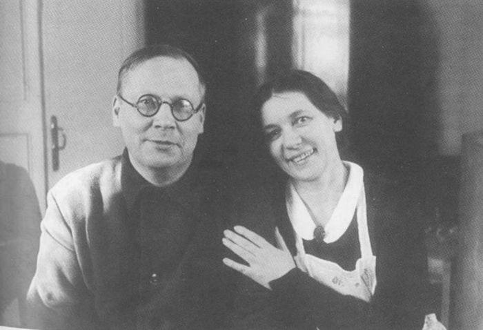 _В Заболоцкий и жена