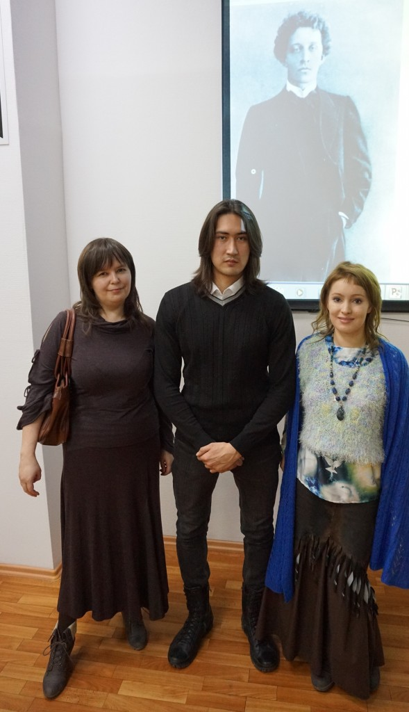 с Олей и Денисом