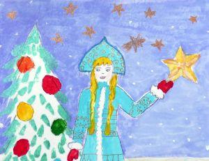 Рисунок девочки для сказки