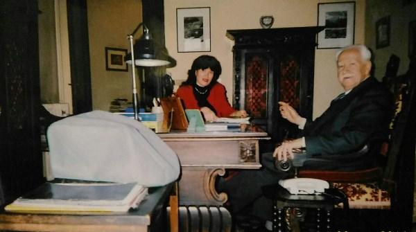 В адвокатской конторе. Турин. Май 1996 года.