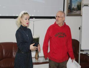Вечер поэта Валерия Колесникова